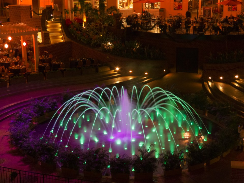 Opryland Hotel Fountain 2011