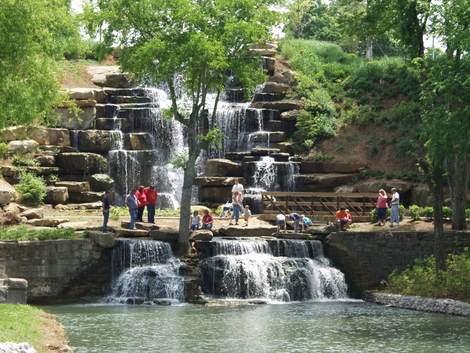 Spring Park - Natural Water Feature