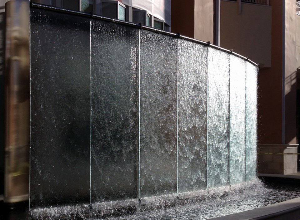 Fashion Valley Water Wall