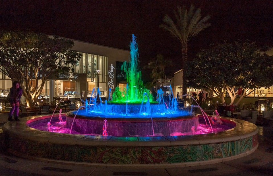Westfield University Town Center Musical Fountain